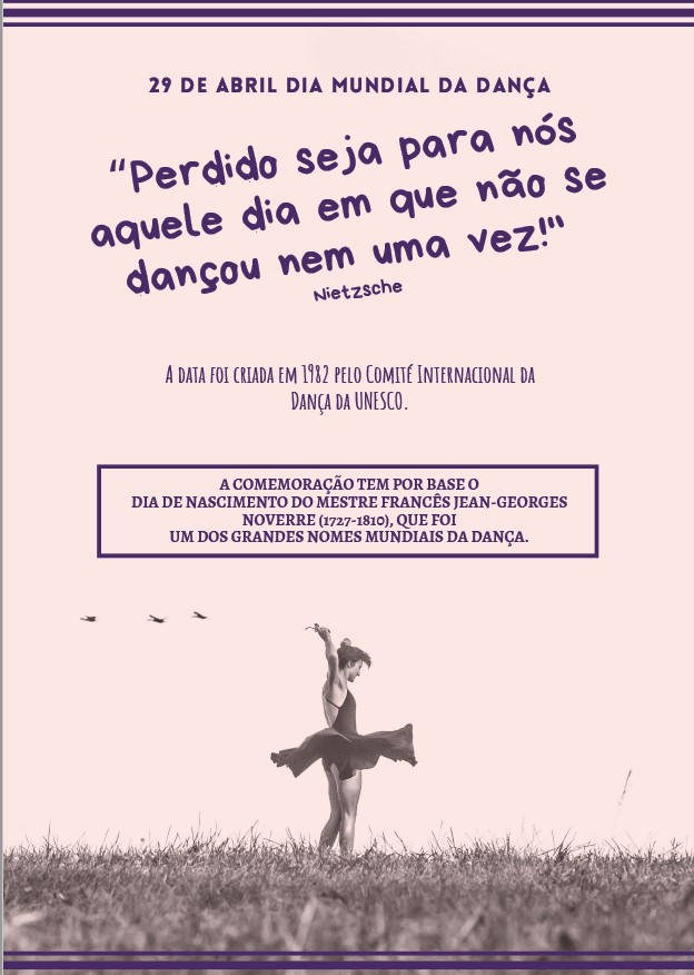 cartaz danca