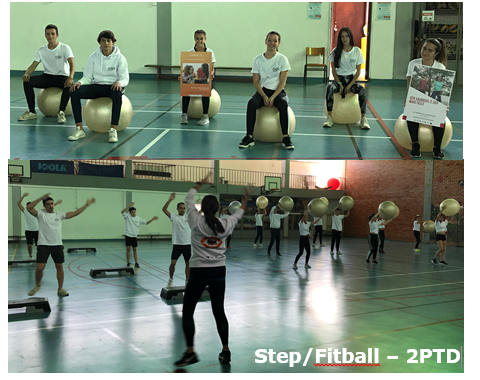 step fitball 2PTD
