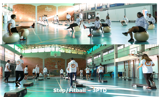 step fitball 3PTD