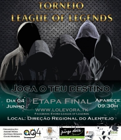 Torneio de League of Legends - Etapa Final -4 de Junho